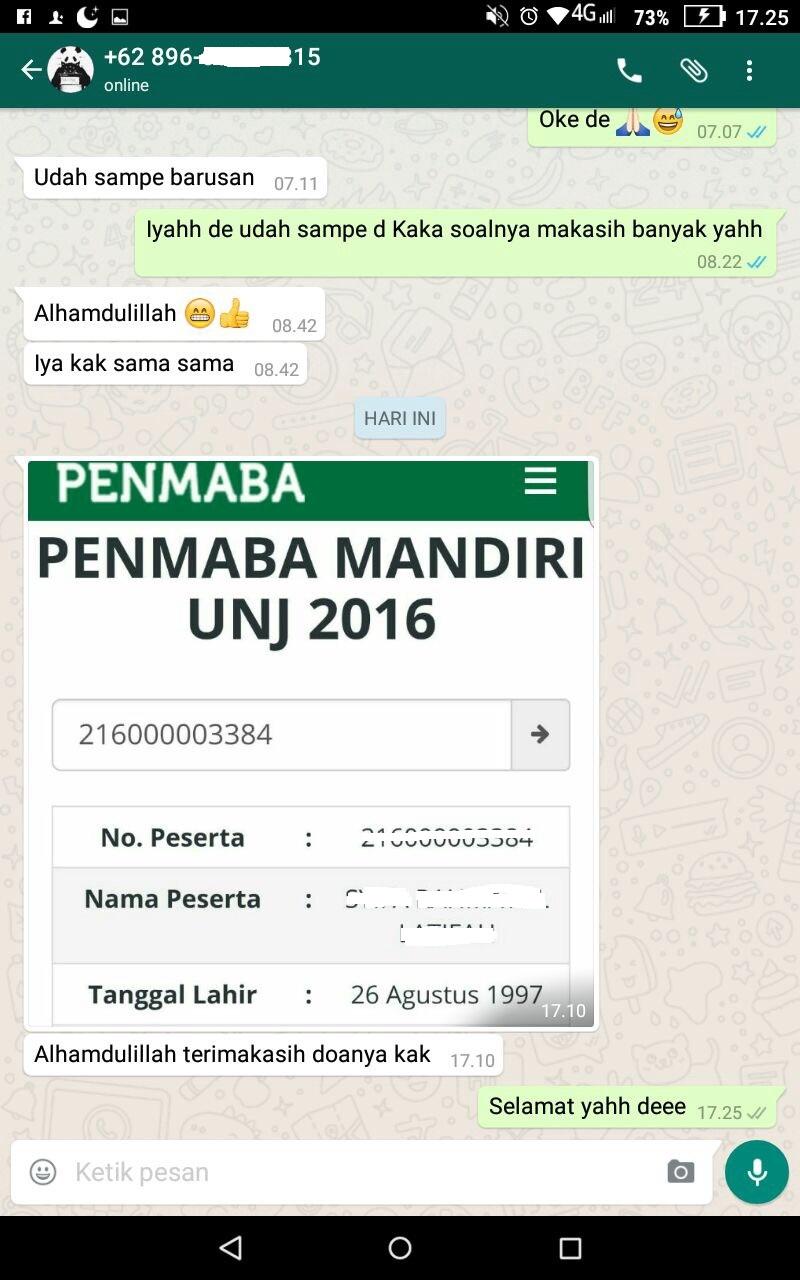 Mahasiswa Lampung Unj Silaturahmi Keluarga Mahasiswa Sikam Lampung Unj